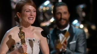 A look back at a night at the Oscars - Video