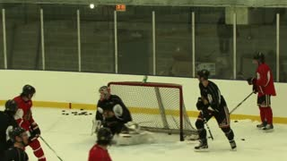 Chicago Blackhawks Patrick Kane 2010 Hockey Practice - Video