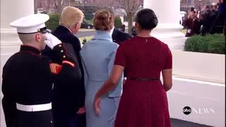 Presente de Michelle Obama para Melania Trump - Video