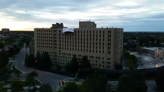 The Implosion Of The Millard Gates Hospital - Video