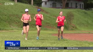 Team USA in Uganda ahead of the IAAF World Cross Country Championship - Video