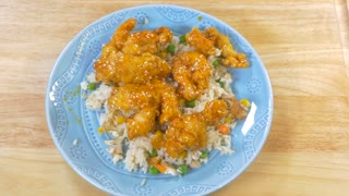 Deliciously simple orange chicken recipe - Video