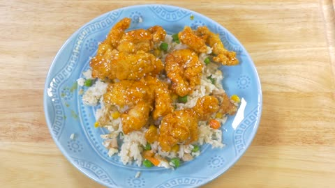 Deliciously simple orange chicken recipe