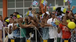 "Pope urges Cuba, U.S. to ""persevere"" in reconciliation - Video"