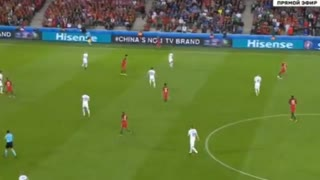 GOAL!! Luis Nani scores for Portugal after a great assist from Andre Gomes - Video