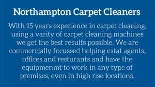 carpet cleaners northampton - Video