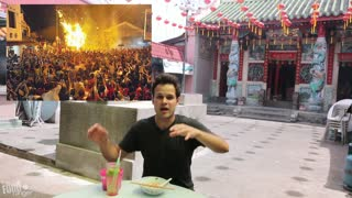 Eating At A Remote Temple Outside of Penang, Malaysia | Malaysian Food Treasures - Video