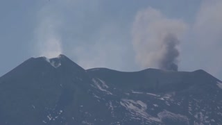 Remarkable time lapse of Mount Etna volcanic activity - Video