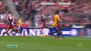 Bayern Munich 1 - 0 Hertha Berlin Highlights Bundesliga 2015 - Video