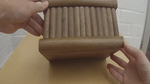 How to open a Turkish puzzle box