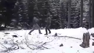 Close combat fight.. You All need training like this - Video