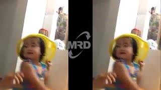 Twins Still Playing With Their Mother - 2 beautiful girls playing with their mother - Video