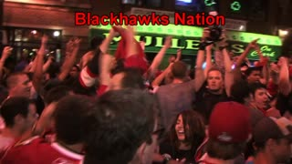 Chicago Blackhawks 2010 Stanley Cup Championship Celebration in Wrigleyville - Video
