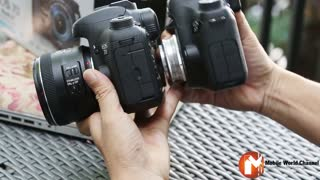 Canon 7D Mark II hands-on - Video