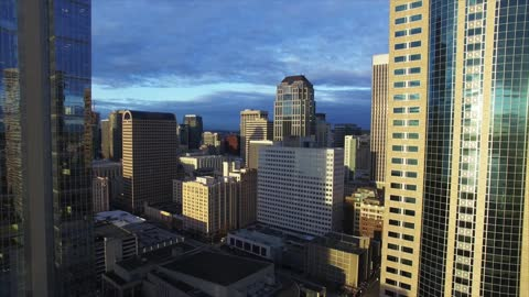 Witness the stunning beauty of downtown Seattle