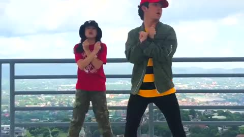 Siblings assemble! hit the #DipDanceChallenge now!