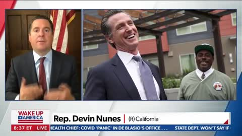 Nunes: Democrats trying to clear Newsom and Cuomo from 2024 field to help Harris