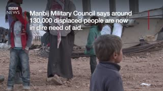 IS conflict: Raqqa residents flee looming battle - BBC News - Video