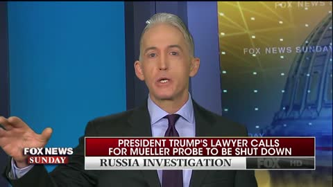 Gowdy:'If You Have An Innocent Client, Act Like It'