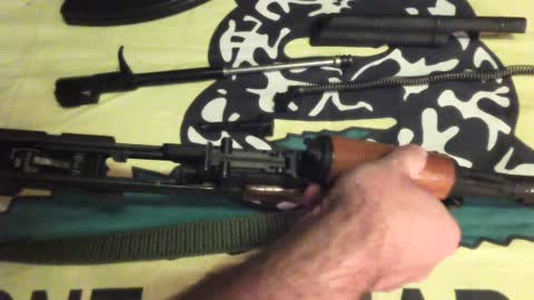 Basic Firearms Disassembly #9: Kalashnikov