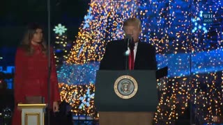 President Trump Goes All in on Christmas - Video