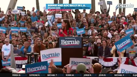 AOC Snaps After She's Disrupted at Bernie Rally