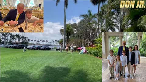 Easter Egg Hunt At Mar-A-Lago With The Family!