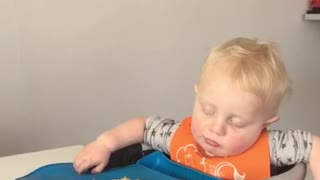Toddler Sleep Eating