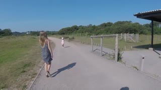 Dawlish Warren Beach Trip & Beach work  - Video