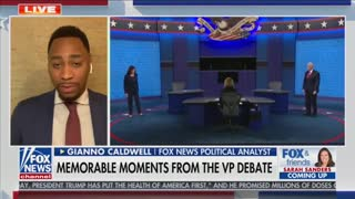 Tony Katz on Fox News: Vice-Presidential Debate Breakdown...Did Harris Score?