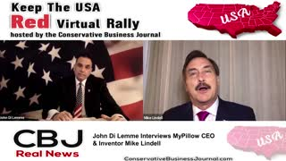 Mike Lindell, My Pillow C.E.O. shares about his faith and how God was always chasing him...
