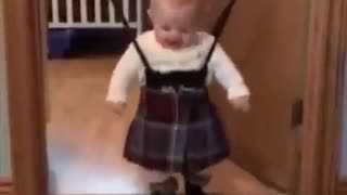 When you first put in a kilt - Video