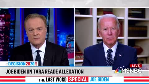 Joe Bidens says vote again him if you believe Tara Reade