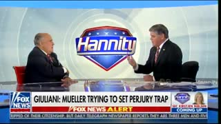 GIULIANI: Mueller Case Is Going to BLOW UP - Video