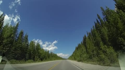 Drive-Lapse: From Banff Alberta to The Columbia Icefield in Jasper