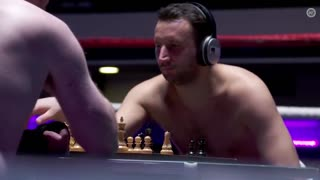 Floyd Mayweather vs. Conor McGregor in CHESS BOXING - Video
