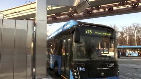 Moscow eyes fully electric bus fleet by 2030