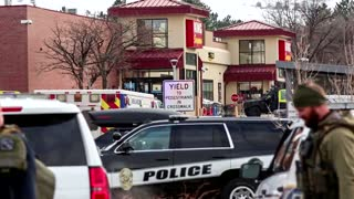 'It's absolutely tragic': Harris on Colorado mass shooting