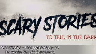 Scary Stories - The Hearse Song/Sarah's Music Box - Eb Harmonica
