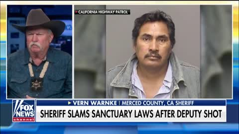Sheriff Warns Other Sanctuary Cities After Another Officer Is Shot By An Illegal Immigrant [VIDEO]