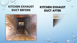 Grease Hood and ductwork cleaning project