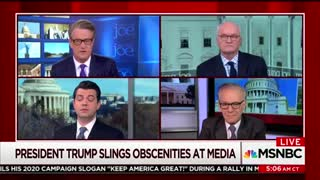 MSNBC's Joe Scarborough Brazenly Compares Trump To Mussolini - Video