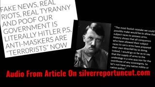 Tyranny, Fake News, Riots, The Government Is Literally Hitler & Anti-Maskers Are Terrorists