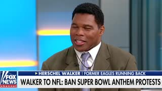 Herschel Walker: Players Received 'Hush Money' From NFL to Stand for Anthem - Video