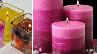 Beautiful candles - Video