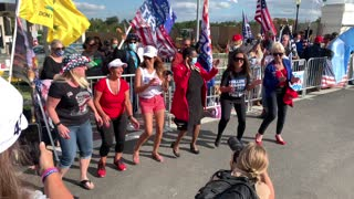 M A G A Song Dance @ Walter Reed Trump Rally