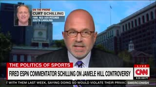 "CNN's Smerconish Gets ""Catty"" When Curt Schilling Hurt His Feelings During Interview - Video"