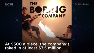 Elon Musk's Flamethrower Might Save Us From A Zombie Apocalypse - Video