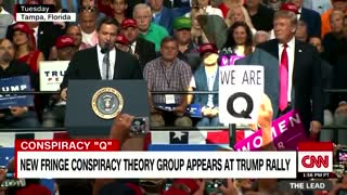 Why does the media likes to talk about QAnon so much