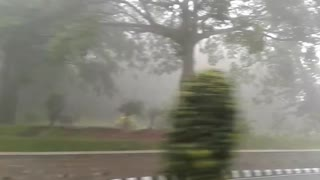 RAIN AND SNOW IN TIRUMALA TIRUPATI TEMPLE - Video
